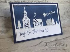 The Craft Spa - Stampin' Up! UK independent demonstrator : Joy to the World... Hearts & Hometown #7