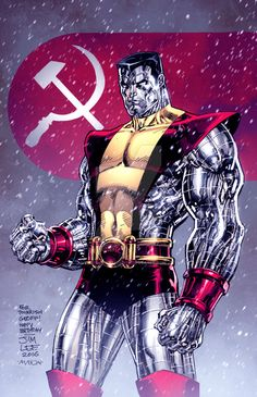 X-Men: Colossus by Jim Lee, Colors: Thomas Mason Comic Book Artists, Comic Book Characters, Marvel Characters, Comic Character, Comic Books Art, Comic Art, Marvel Comics Art, Fun Comics, Marvel Dc Comics