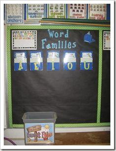word families :) board