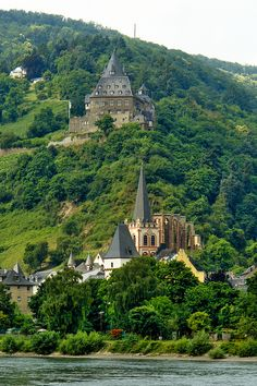 Castle Stahleck, Germany   - Explore the World with Travel Nerd Nici, one Country at a Time. http://TravelNerdNici.com