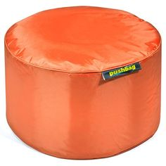 #Sitzsack von Pushbag - Drum: Orange