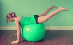 450 rep Stability Ball Glute Workout || Lushious Lifts