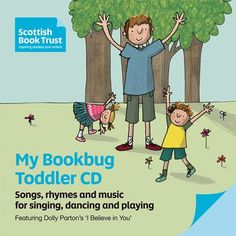 Songs and rhymes from Bookbug that your toddler will love.