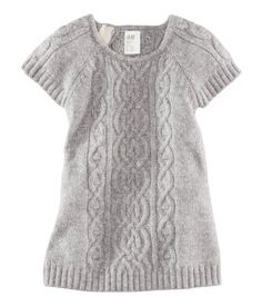 $17.95 Sweater Dress| H US--- I want this yesterday... if we were having a girl.  Throw on some tights.... I could squeal it's so cute!