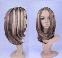 Fashion Straight Wigs Lace wigs Synthetic Hair FOR WOMEN
