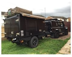 DEFENDER2.NET - View topic - [For Sale] Overland Trailer. Pic Heavy.