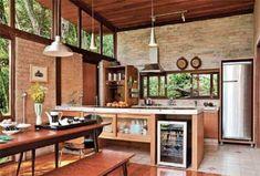 all the elements of the dream kitchen Küchen Design, House Design, Line Design, Patio Design, Design Ideas, Bungalow, Sweet Home, Interior Architecture, Interior Design