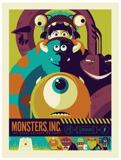 Tom Whalen's retro take on movie posters.