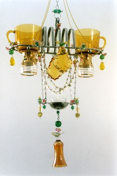 More Tea Cup Chandeliers
