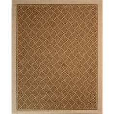 Society Page Grain Rectangular Indoor/Outdoor Machine-Made Moroccan Area Rug (Common: 5 x Actual: W x L)
