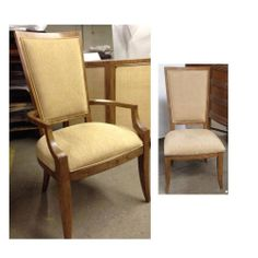 Thomasville Furniture Banyon Bay uphostered chairs 4 side and 2 arm chair set