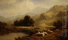 Walter J. Watson:View on the Lledr, North Wales