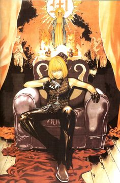 I really like Mello, despite the fact that he kind of lost a lot of his morals after L died. I like that even though he was one of L's successors he had that emotional illogical side to him that was so unlike L