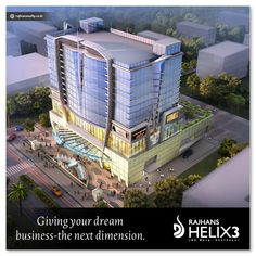 Giving your dream business-the next dimension. #RajhansHelix3 #Mumbai