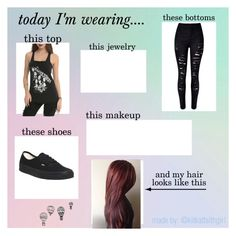 """BVB"" by batmanunicorn23 ❤ liked on Polyvore featuring Vans and WithChic"
