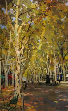 Autumn in Paris - Bernard Lamotte (1903-1983)