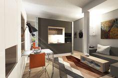 Množstvo úložného priestoru v malom byte   Living styles
