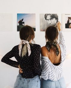 How to Style Bows In Your Hair With Scarf - Ferbena Fashion Magazine Easy Style, Scarf Hairstyles, Scrunchies, Hair Inspiration, Hair Inspo, Ideias Fashion, Your Hair, Hair Makeup, Hair Beauty