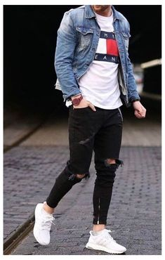 Cool Outfits For Men, Stylish Mens Outfits, Popular Outfits, Casual Outfits, Urban Style Outfits Men, Summer Outfits Men, Sneaker Trend, Sneakers Mode, Men's Fashion Sneakers