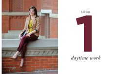 How to Layer for Fall by Lauren of Stylized Existence // LOOK ONE: daytime work