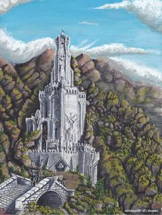 Кирит Унгол Citith Ungol at Begining of Third Age by LePtitSuisse1912 on DeviantArt