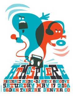 Great hip hop, awesome poster