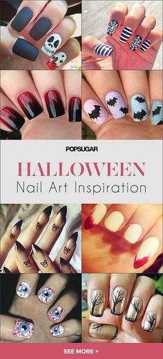 The ultimate guide to #Halloween #nailart — 101 creative ideas!