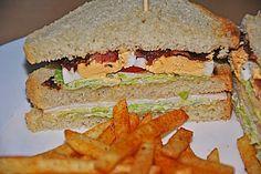 New York Club Sandwich (Rezept mit Bild) von Feline86 | Chefkoch.de