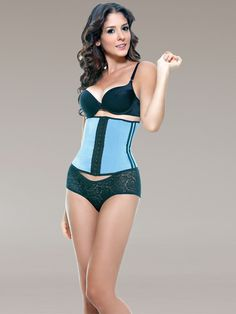 396568aa00 Vedette 348 Latex Underbust Strapless Waist Cincher in Fashion Colors