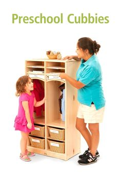Find beautiful, personalizeable preschool cubbies to fit your space and group size. Preschool Cubbies, Preschool Classroom, Classroom Setting, Soothing Colors, High Quality Furniture, Lockers, Learning, Children, Fitness