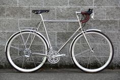 Ahearne Cycles Stainless Road Bike