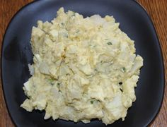 "Cajun Potato Salad. ""I made this for people at work to show them what real Cajun food tastes like. It was gone before I ate any. I now live in Oklahoma, but am originally from Louisiana."" Stacy is true Cajun as her recipe reflects, a lil' bit of dis and a lil' bit of dat."