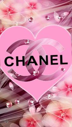 VITRINE CHANEL..FEMENICES! Bling Wallpaper, Cute Wallpaper For Phone, Fashion Wallpaper, Hello Kitty Wallpaper, Cellphone Wallpaper, Wallpaper Backgrounds, Iphone Wallpaper, Chanel Wall Art, Chanel Decor
