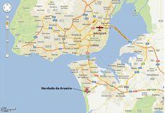 carte lisbonne et environs | ... plages des environs de Lisbonne. Le domaine est fermé et sécurisé