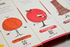 "Packaging designs for an Italian chocolate brand—so charming! // Sabadi's ""cioccolato di Modica"""