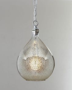 Mercury glass 1 light pendant mercury glass glass pendants and beautiful mercury glass pendant light idea with crackled glass in droplets shape and chains use jk to navigate to previous and next images aloadofball Images