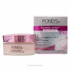 Pond's Flawless White Dewy Rose Skin PONDS Lightening SPF30 Whitening Soft Cream  Price:US $15.99  http://www.ebay.com/itm/152106565320  #ebay #paypal #Thailandfantastic #Pond #Flawless #White #Dewy #Rose #Skin #Lightening #SPF30 #Whitening #Soft #Cream #beauty