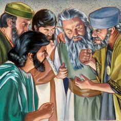 Jewish leaders conspire to kill Jesus