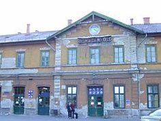 Kelenföld railway station, Budapest (Hungary). Source: Wikipedia.