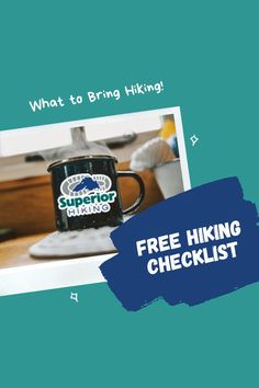 Even if you're only planning to be out for a few hours on a day hike, it's important to pack some essential items. Click through to get the checklist and be a smart hiker by being prepared. Hiking Checklist, Hiking Tips, Men's Fitness, Lake Superior, Beach Walk, Day Hike, Road Trip, How To Plan, Road Trips