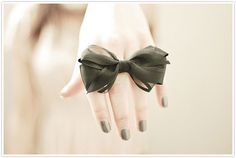 black satin ribbon bow tied decor pretty wedding party design decor inspiration fashion table flowers