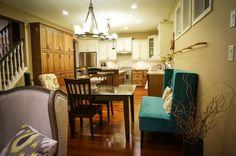 Nook, Kitchen, home, Edmonton Restoration Hardware, Custom Homes, Nook, French Country, Kitchen Island, Kitchen Design, Table, Furniture, Home Decor