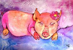 """Night Night Little Piggy"" by Debi Starr"