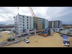 (155) 10 days, 6 levels, 77 homes – New building uses unique prefabricated construction system - YouTube