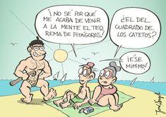 ¡Pitágoras en la playa! | Matemolivares