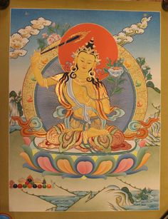 Beautiful Manjushri