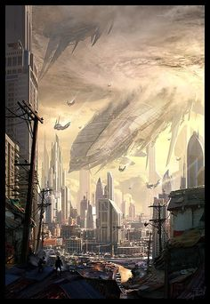 Insane Fantasy / Sci-fi Art by Raphael Lacoste conceptart concept photography sketches scifi steampunk steam punk purse fashion yolo bonetech3d cgi  landscapes scenery digital anime mech enviroment character concepts