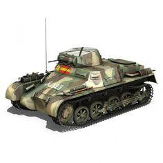Panzer 1 - PzKpfw 1A - Spainish Civil War
