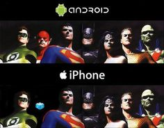 Android with Flash. Apple iPhone without Flash. Humour Geek, Nerd Humor, Android Vs Iphone, Mobile Android, Iphone 3, Android Apps, Mobile Phones, Apple Iphone, Visual Puns