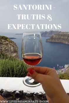 Live Dream Create - D! The truth about Santorini and what to expect is all in this article! Read more about #santoriniisland #santorini #santorinigreece #santorinisunset